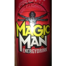 Magic Man Energydrink Grape, 0,33 l