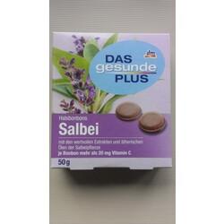 Halsbonbons Salbei - Das gesunde Plus DM - 4010355938497
