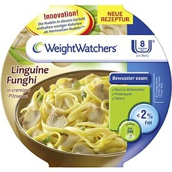Weight Watchers Linguine Funghi