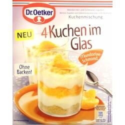 Dr Oetker 4 Kuchen Im Glas Mandarine Schmand 4000521013226