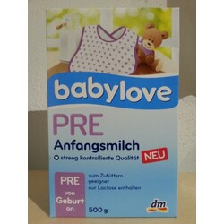 Babylove Anfangsmilch Pre
