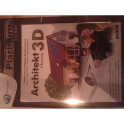 Architekt 3D Home Platinum Edition (CAD Software)