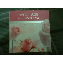 anti-age night cream rose line