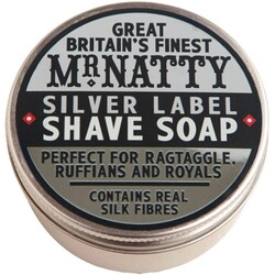 Mr. Natty Silver Label Shave soap - Rasierseife
