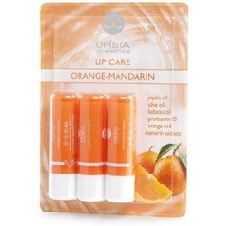 Ombia Cosmetics Lippenpflegestifte Orange-Mandarine