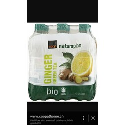 Coop Naturaplan Bio Ginger Green Tea