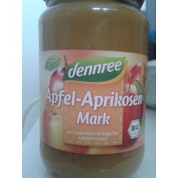 dennree Bio Apfel Aprikose Mark