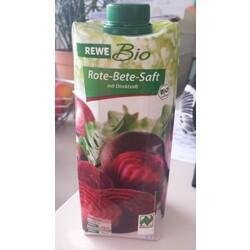 Rote Bete Saft Rewe Bio 4388844022348 Codecheckinfo