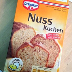 Dr Oetker Nuss Kuchen 520 G 4000521852207 Codecheck Info