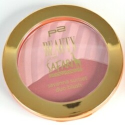 "p2 ""Beauty goes Safari"" Savanna Sunset Duo Blush 010 Sunny Reflection"