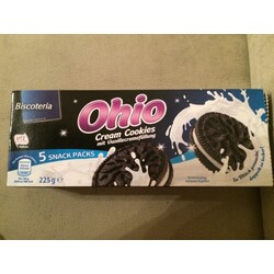 Ohio Cream Cookies mit vanillencreamfüllung