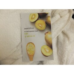 Innisfree It's real squeeze mask-kiwi 1sheet/20ml