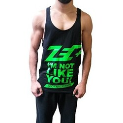 Zec+ Stringer Tank Top Black (L)