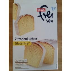 Rewe Frei Von Zitronenkuchen Glutenfrei 4388844079243 Codecheck Info