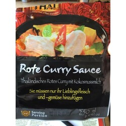 Rote Curry Sauce