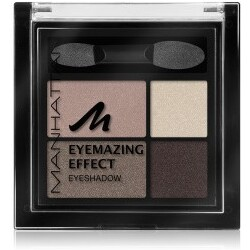 Manhattan Make-up Augen Eyemazing Effect Eyeshadow Nr. 95R Brownie Break 5 g