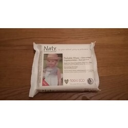Naty Flushable Wipes