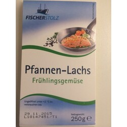 Pfannen Lachs Frühlingsgemüse Von Lidl 20537104 Codecheckinfo