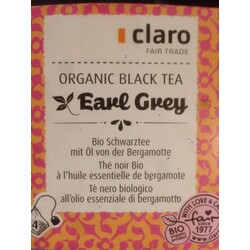 Organic black tea Earl Grey