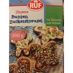 Ruf Unsere Bunten Zuckerstreusel 4002809004308 Codecheck Info