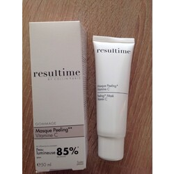 Resultime peeling mask by colli paris