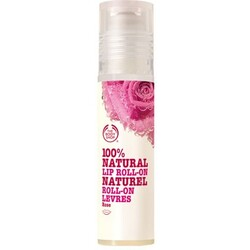 The Bodyshop 100 % Natural Lip Roll-On Rose