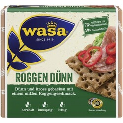 Wasa Roggen DГјnn