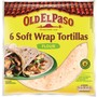 Old El Paso Soft Wrap Tortillas 350 g