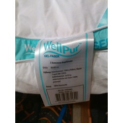 wellpur gel faser 3 kammer kopfkissen 5703288031609 codecheck info. Black Bedroom Furniture Sets. Home Design Ideas