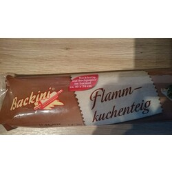 Backini Flammkuchenteig