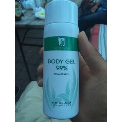 Body Gel Aloe Vera gel