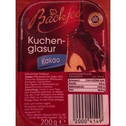 Backfee Kuchenglasur 20004149 Codecheck Info