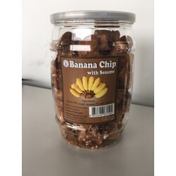 Banane Chip with Sesame