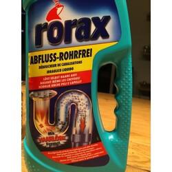 rorax abflussreiniger 7610007169704 codecheck info. Black Bedroom Furniture Sets. Home Design Ideas