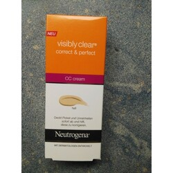 Neutrogena CC cream visibly clear correct & perfect