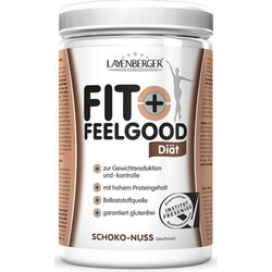 Fit+Feelgood Slim, Schoko-Nuss, Pulver (430 g) von Layenberger