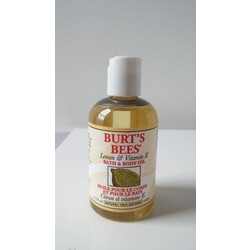 Burt's Bees BATH & BODY OIL Lemon & Vitamin E