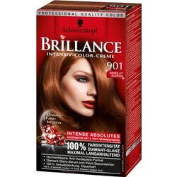 Schwarzkopf Brillance Intensiv Color 901 Absolut Kupfer