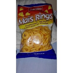 Snackline - Mais Rings mit Pizzageschmack
