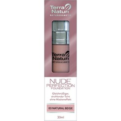 Terra Naturi Nude perfection foundation 03 Natural Beige