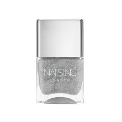 Nails Inc. London - Electric Lane Holographic Glitter Top Coat