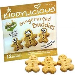 Kiddylicious Gingerbread Buddies