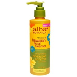 Alba Botanica Facial Cleanser Lotion Pore Purifying Pineapple Enzyme