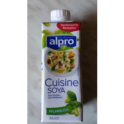 Alpro soya cuisine 5411188120575 codecheck info for Alpro soja cuisine