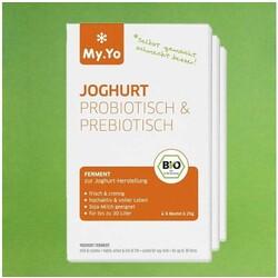 my yo joghurt ferment probiotisch prebiotisch 6 x 25 g 4260112342016 codecheck info. Black Bedroom Furniture Sets. Home Design Ideas