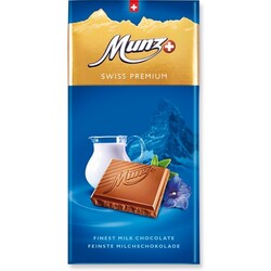 Munz Swiss Premium Milch 100g 7610041080003 Codecheckinfo