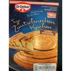 Dr Oetker Backmischung Zimtschnecken Kuchen 4000521016784