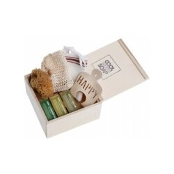 AROMALIFE Geschenkset Cool Soap Holzbox