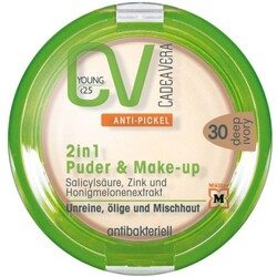 CV Young Anti-Pickel 2in1 Puder & Make-Up 30