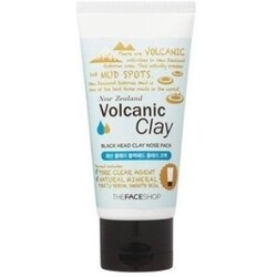 THE FACE SHOP New Zealand Volcanic Clay BLACK HEAD CLAY NOSE PACK